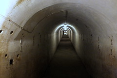 One of the tunnel of the Ninth Fort