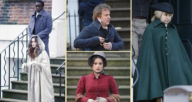 Jonathan Strange & Mr Norell cast