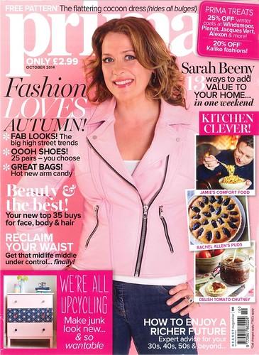 PRIMA Magazine - October 2014 - Cover