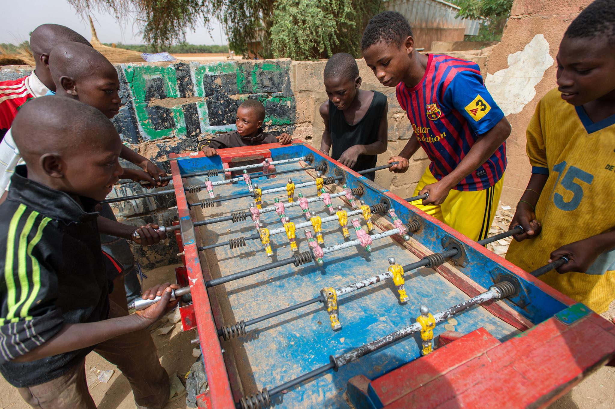 Foosball in Niamey