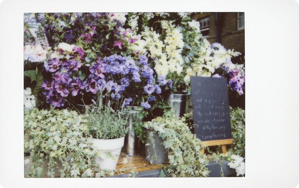 flowers in covent garden market