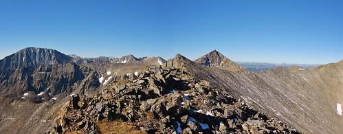 Quandary, Fletcher, and Pacific Peak