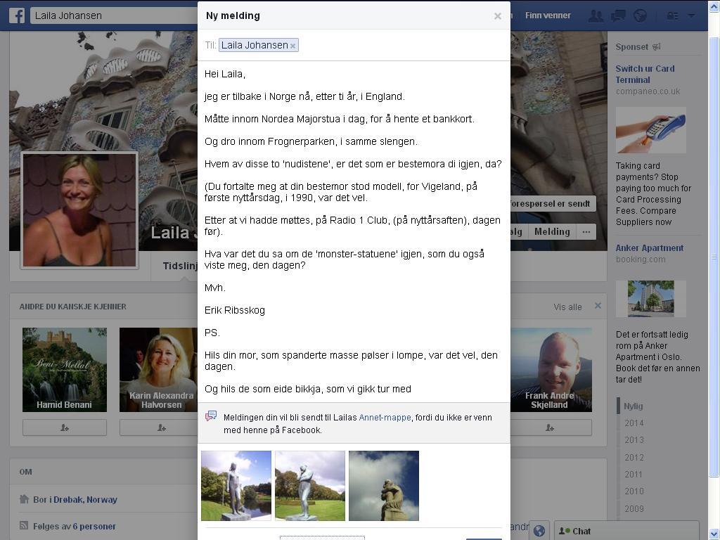 facebook hm