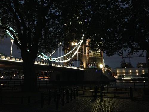 Tower Bridge visto desde la terraza