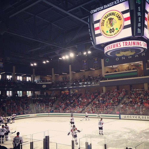 2014 Chicago Blackhawks Training Camp/Team Scrimmage