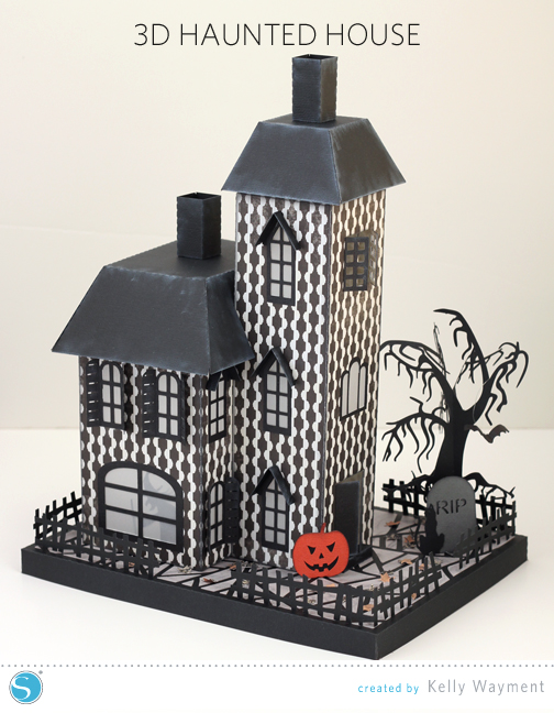 Haunted House by Kelly Wayment for Silhouette