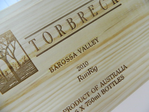 Torbreck 'RunRig' Shiraz 2010 (OWC) ERobert Parker 100 Points!