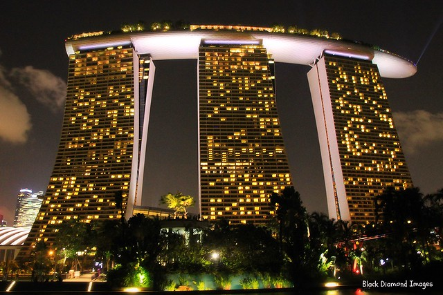 Marina-Bay-Sands Resort Hotel and Casino, Singapore, 13.1.2014
