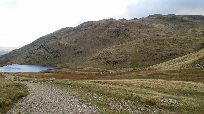 Styhead Tarn and Seathwaite Fell #sh