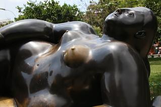 Botero Park.  Medellin, Colombia.
