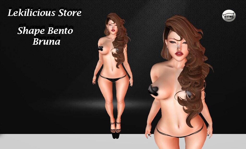 .: Lekilicious Srtore ;. Shape  Bruna  catya - SecondLifeHub.com
