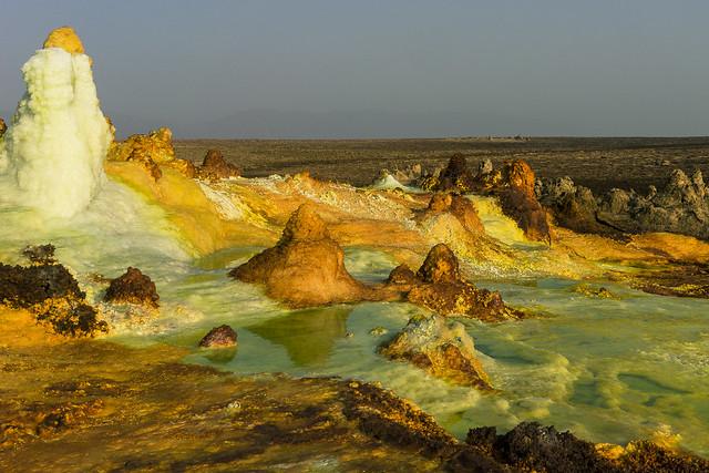 dallol volcano.Danakil. Ethiopia