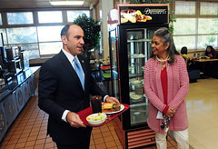Congressman Jimmy Panetta tours Presidio