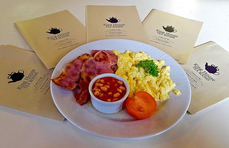 King House Tea Rooms Breakfast