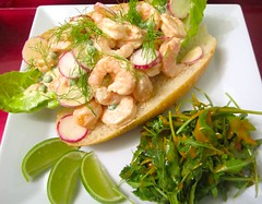 OLD FASHIONED SHRIMP ROLL   @ Home by Hans susser