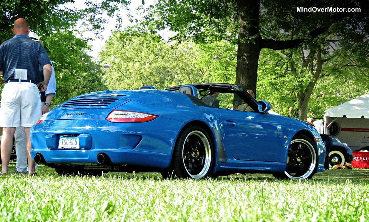 Porsche 997 Speedster rear