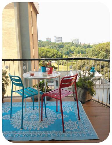 il balcone azzurro