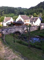 le pont des pèlerins à St Chély d'Aubrac