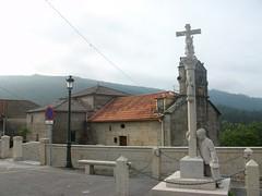 20 Cruceiro a los canteros y iglesia de Tomeza (PK39,2)