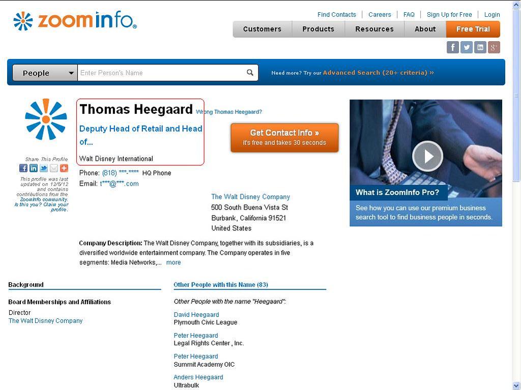 thomas heegaard disney