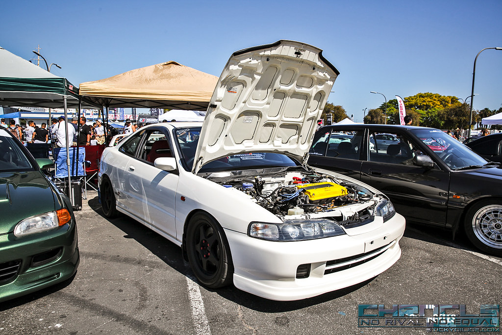 C Bd B on White With Spoon S Integra Gsr