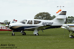 N6081F ROCKWELL COMMANDER 114 B 14681 PRIVATE - Sywell - 20130601 - Alan Gray - IMG_9179