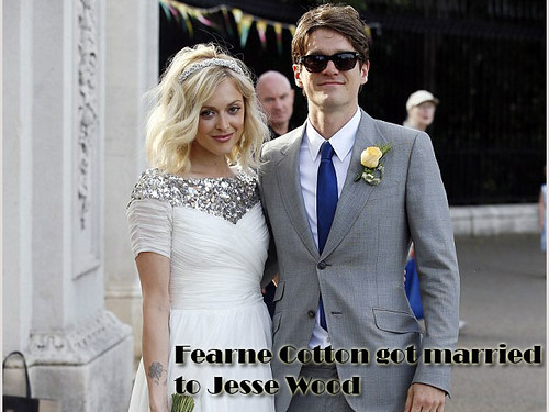 Fearne Cotton got married to Jesse Wood