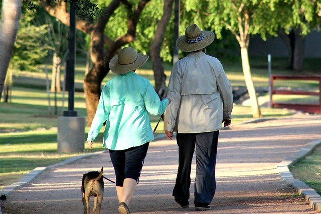 Hats Go For A Walk