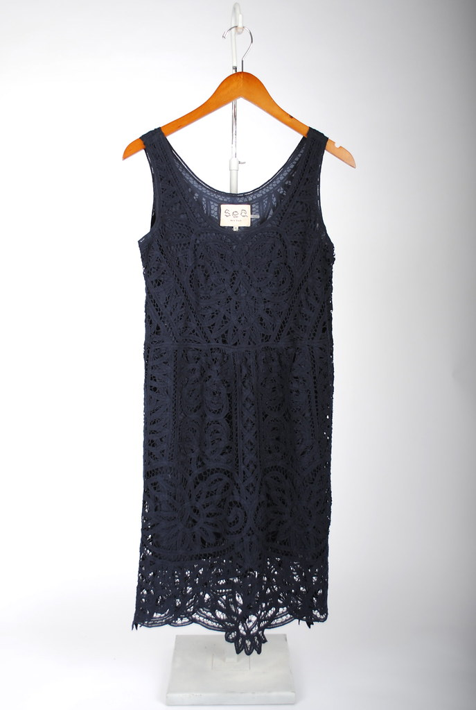 Battenburg Lace Tank Dress