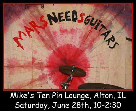 Mars Needs Guitars 6-28-14