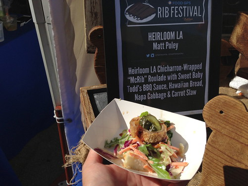 Heirloom LA at Food GPS Rib Festival