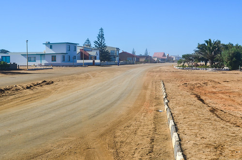 Streets of Henties Bay