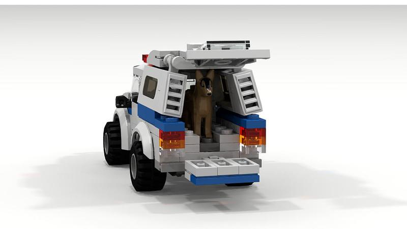 Moc Police Dog Unit Lego Town Eurobricks Forums