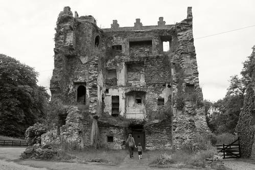 Blackhall Castle, interior