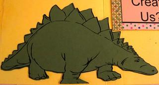 """Dinosaurs"" Shape Book"