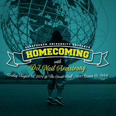 8/1 - After the Dinner its the #Homecoming @ the Great Hall Toronto