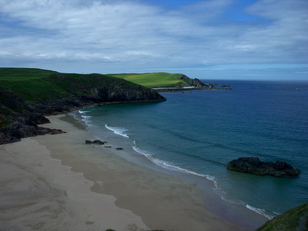 Durness Beach smaller cove