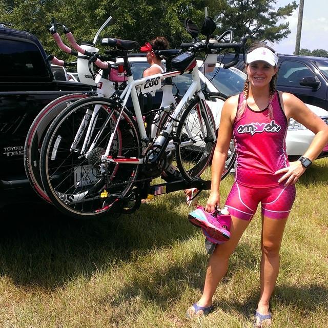 Got her done!! #HoD #triathletesarecrazy #triathlonbuzz #proudcoach @smashfestqueen #smashfestqueen