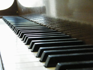 Baby Grand Piano Keys | by magicatwork
