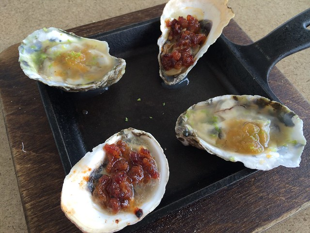 Oyster duo - WK Hearth