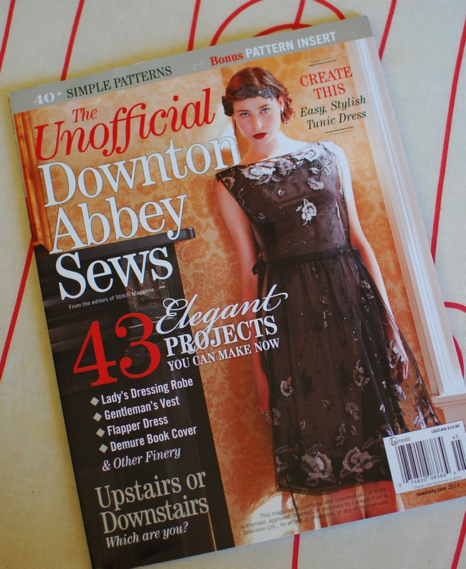 pat sloan downton abbey cover