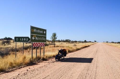 C26 road, Nambia