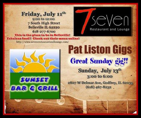 Pat Liston 7-11, 7-13-14