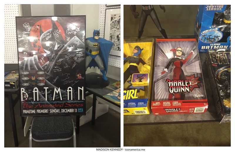 Batman museum at Big Wow! ComicFest