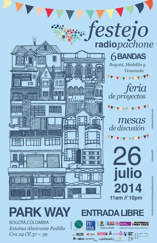 Afiche Festejo Radio Pachone