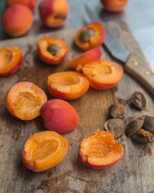 Apricot Cherry Marzipan tart recipe-3