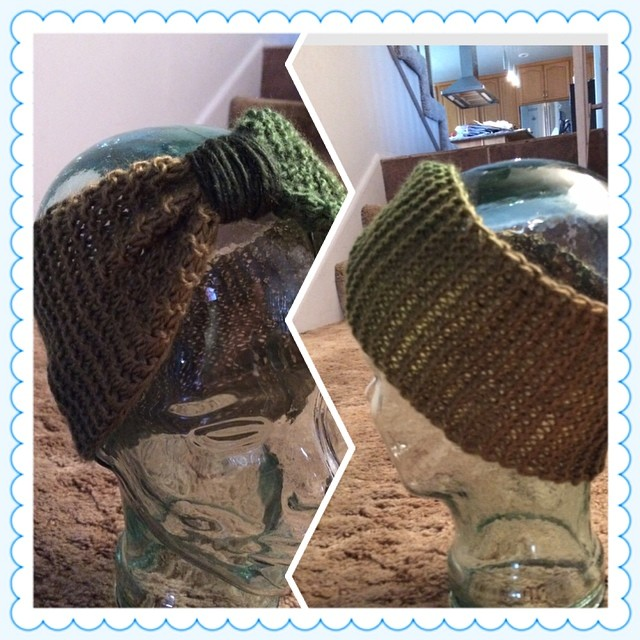 it's a cinch #instacollage #headband #headwrap