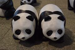 white, head, giant panda, ceramic, toy,