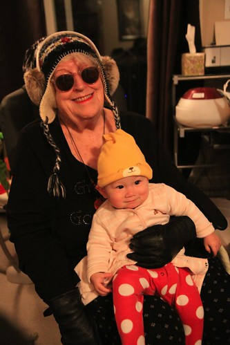 With my funky granma!