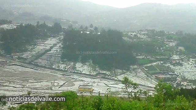 Granizada en municipios del altiplano de San Marcos